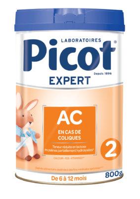 Lait AC 2 Picot : lait anti-colique