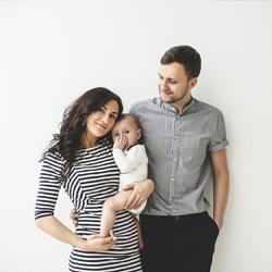 Famille avec bébé