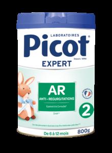 Lait AR 2 Picot : lait anti-régurgitations