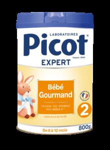 Lait PICOT Bébé Gourmand 2